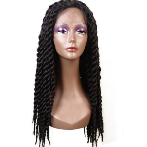 Lace Front Braided Wigs Senegalese Twist Hair Long Synthetic Braid Wig