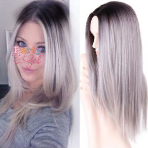 straight ombre wig