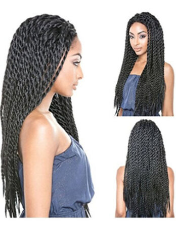 Wigs For Black Women Synthetic Lace Front Braided Wig Afro Braids Wigs