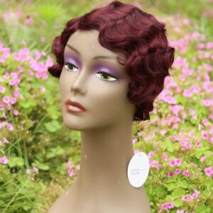 Short Wigs For Black Women Human Hair Curly Wig Deep Wave Wig