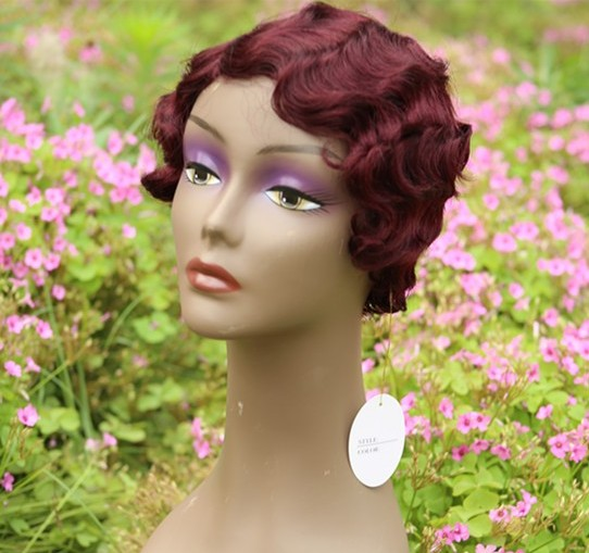 Human Hair Short Wigs For Black Women Pixie Cut Deep Wave