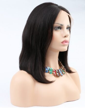Bob Wig Lace Front Human Hair Straight Wigs for Black Women Glueless