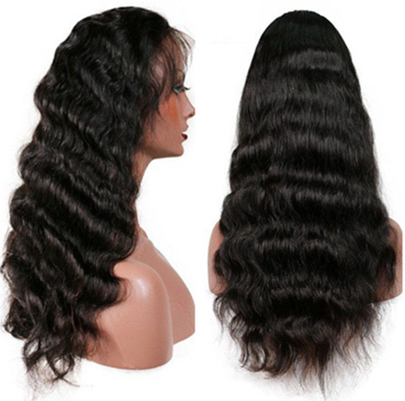 Lace Front Human Hair Wigs Brazilian Body Wave Wigs For Black Women