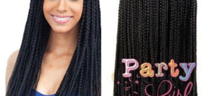 Wigs for Black Women Braided Wigs Synthetic African American Wigs
