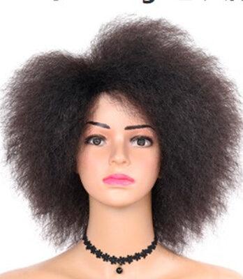 short black afro wig