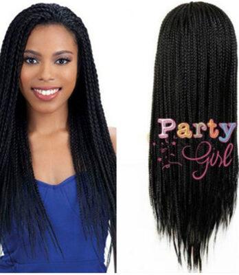 black braided wigs