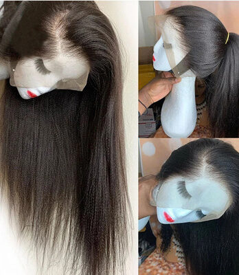 lace front yaki straight wig