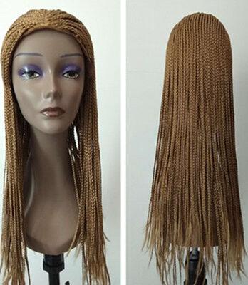 blonde braiding hair wig