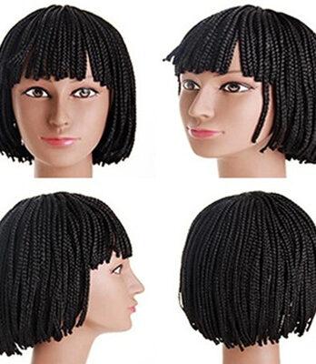 braids bob wigs for black women