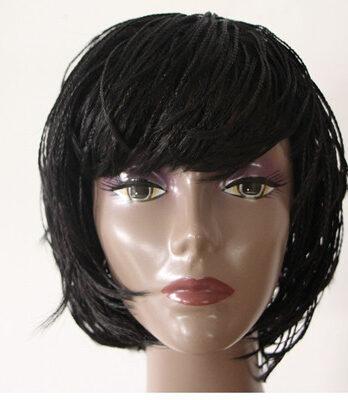 short braided bob wig